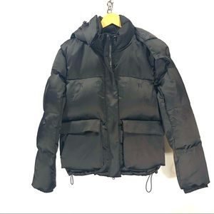 Kith black down puffer jacket size small